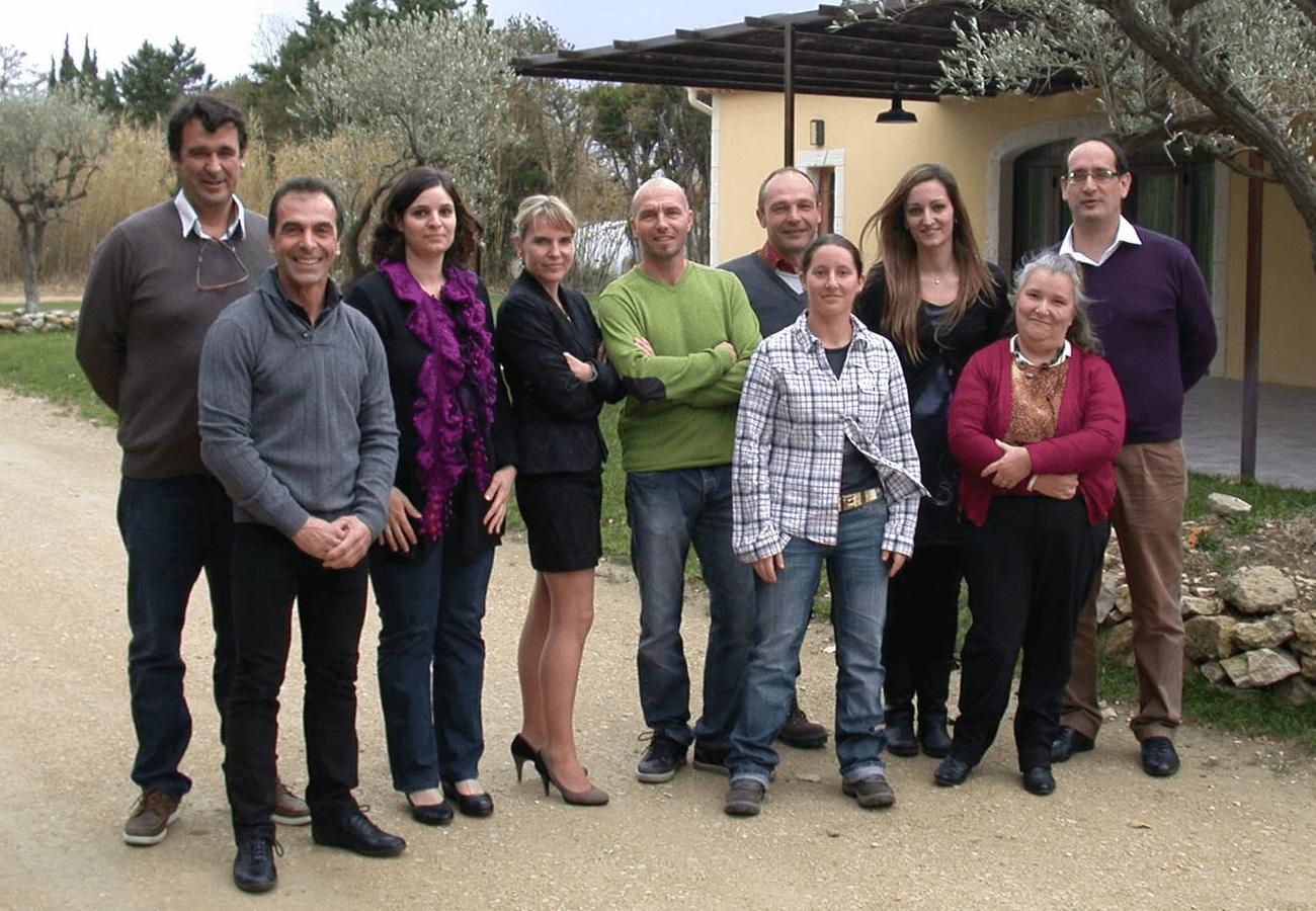 Équipe du GRCETA Basse Durance